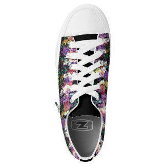 Huntington Gardens Low Tops Printed Shoes