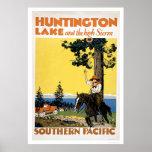 Huntington Lake and the Sierras Print