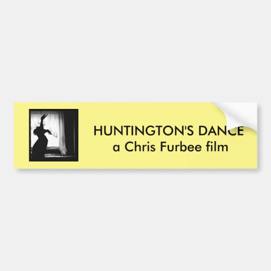 Huntington's Dance Bumper Sticker