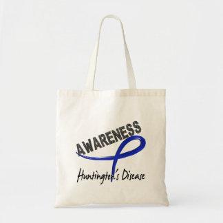 Huntington's Disease Awareness 3 Canvas Bags