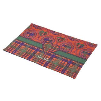 Huntly clan Plaid Scottish tartan Cloth Placemat