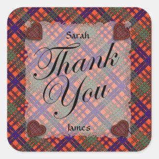 Huntly Scottish clan tartan - Plaid Sticker