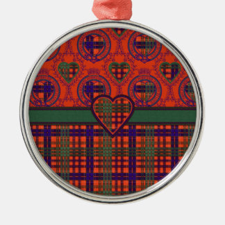 Huntly Scottish tartan Christmas Ornament