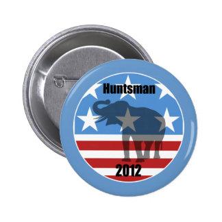 Huntsman 2012 6 cm round badge