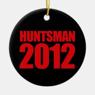 HUNTSMAN 2012 - ROUND CERAMIC DECORATION