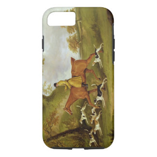 Huntsman and Hounds, 1809 (oil on canvas) iPhone 7 Case