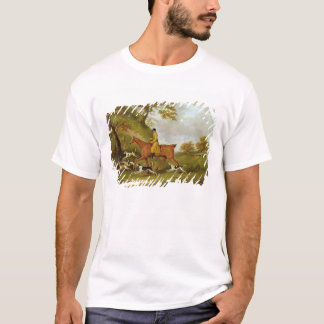 Huntsman and Hounds, 1809 (oil on canvas) T-Shirt
