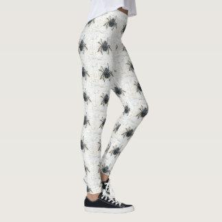 Huntsman Spiders Pattern, Ladies Leggings