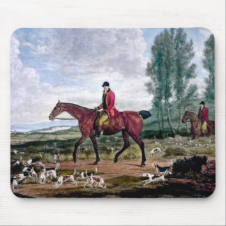Huntsman to his majestys harriers mouse pad