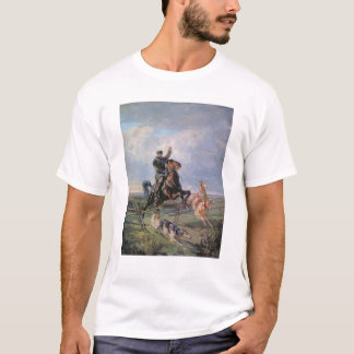 Huntsman with the Borzois, 1872 T-Shirt