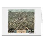 Huntsville, AL Panoramic Map - 1871 Card