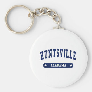 Huntsville Alabama College Style tee shirts Key Ring
