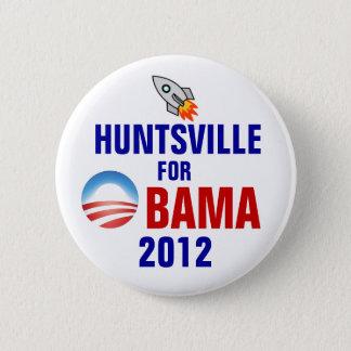 Huntsville for Obama 6 Cm Round Badge