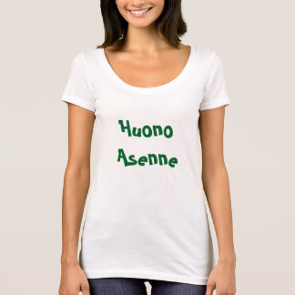 Huono Asenne - Bad Attitude T-Shirt