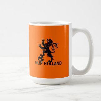Hup Holland - Black Dutch Soccer Lion Coffee Mug