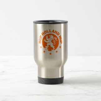 Hup Holland - Editable Background color Stainless Steel Travel Mug