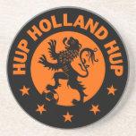 Hup Holland - Editable Background colour Sandstone Coaster