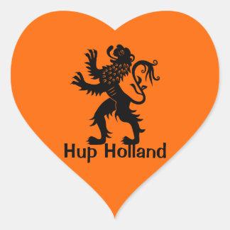 Hup Holland - Holland Lion Heart Sticker