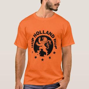 Hup Holland T-Shirt - Black Dutch Soccer Lion! 9a2e765ae