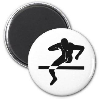 hurdles refrigerator magnet