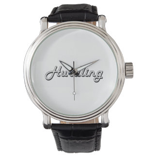 Hurdling Classic Retro Design Wristwatches