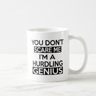 HURDLING GENIUS DESIGNS COFFEE MUG