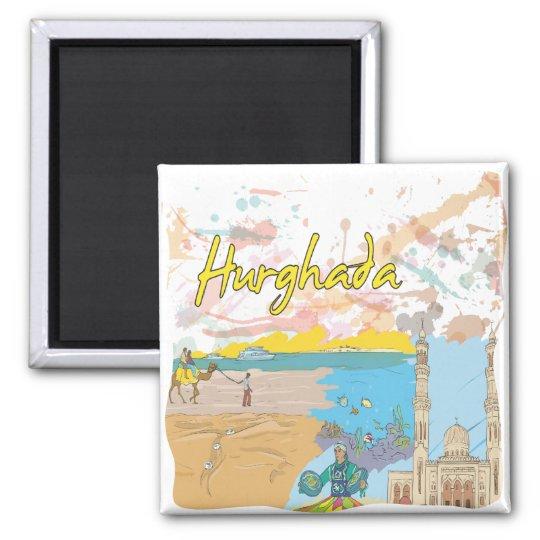 Hurghada Square Magnet