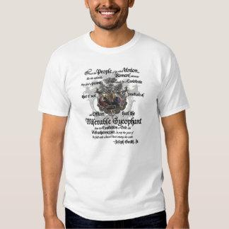 Hurl the Miserable Sycophant says Joseph Smith! T Shirts