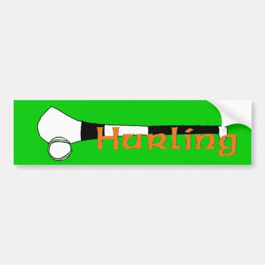 Hurling Bumper Sticker