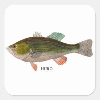 HURO SQUARE STICKER