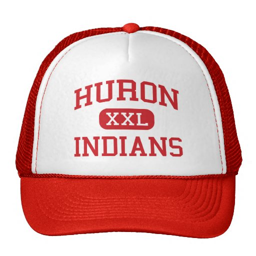Huron - Indians - High - New Boston Michigan Hat