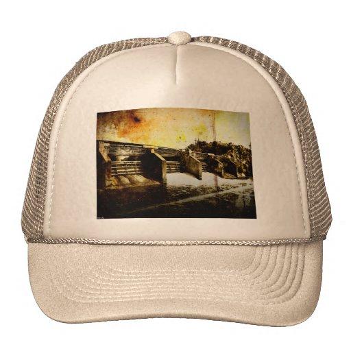 Huron River Dam Mesh Hats