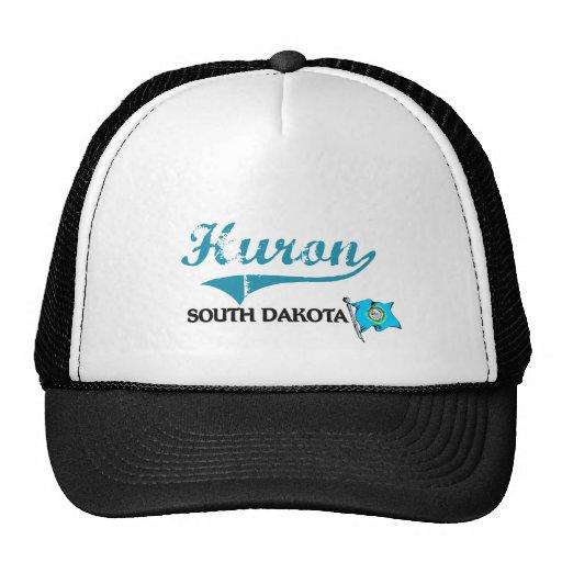 Huron South Dakota City Classic Hats