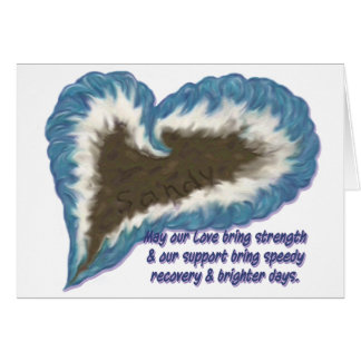Hurrican Sandy Support Card