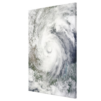 Hurricane Alex over the western Gulf of Mexico Canvas Print