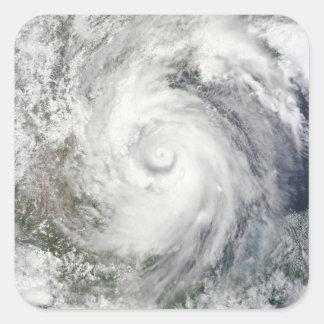 Hurricane Alex over the western Gulf of Mexico Square Sticker