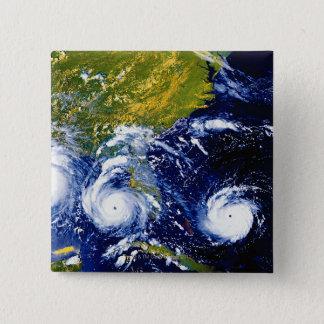 Hurricane Andrew 15 Cm Square Badge
