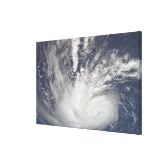 Hurricane Bertha Canvas Print