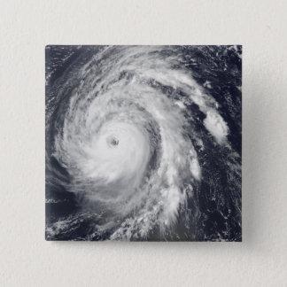 Hurricane Bill in the Atlantic Ocean 15 Cm Square Badge