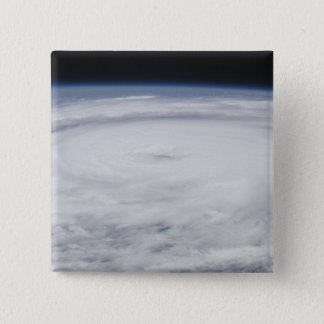 Hurricane Bill in the Atlantic Ocean 2 15 Cm Square Badge