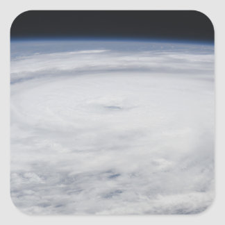 Hurricane Bill in the Atlantic Ocean 2 Square Sticker