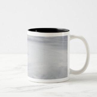 Hurricane Bill in the Atlantic Ocean 2 Two-Tone Coffee Mug