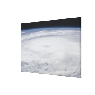 Hurricane Bill in the Atlantic Ocean Canvas Print