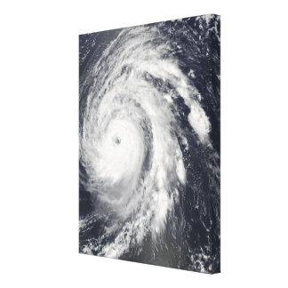 Hurricane Bill in the Atlantic Ocean Canvas Print