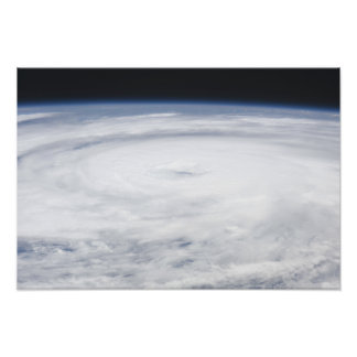 Hurricane Bill in the Atlantic Ocean Photo Print