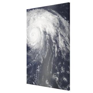 Hurricane Bill off Bermuda Canvas Print