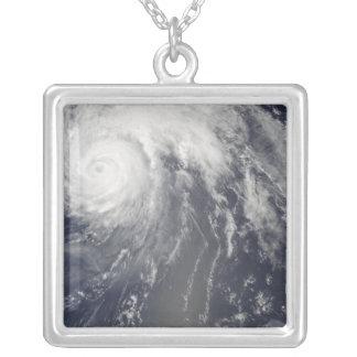 Hurricane Bill off Bermuda Silver Plated Necklace