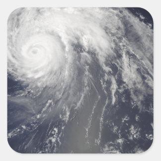 Hurricane Bill off Bermuda Square Sticker