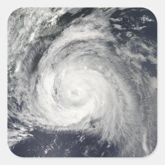 Hurricane Bill off the East Coast Square Sticker