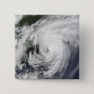 Hurricane Bill over Nova Scotia 15 Cm Square Badge